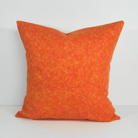 Orange Decorative Pillow Cover, Throw Pillow Cover, Cushion Cover