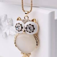 Owl necklace from Moonlightgirl