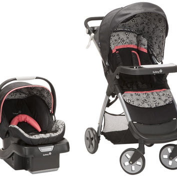 Safety 1st Amble Luxe Travel System w/ onBoard 35 Infant Car Seat (Gentle Lace) TR331CZF