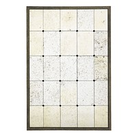 Weathered Glass Grid Mirror | Eichholtz Mountbatten