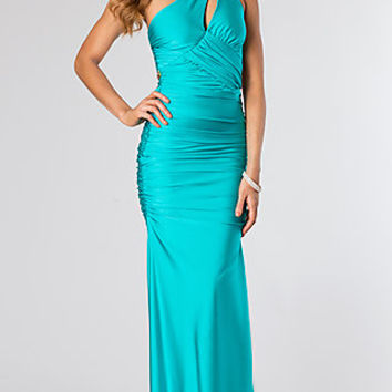 Long One Shoulder Gown by Atria