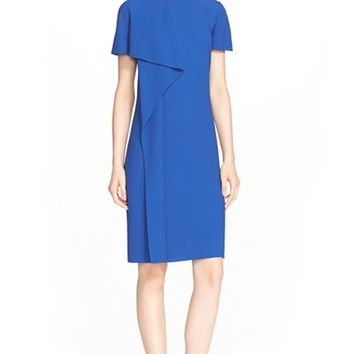 Women's Jason Wu Drape Front Short Sleeve Crepe Dress