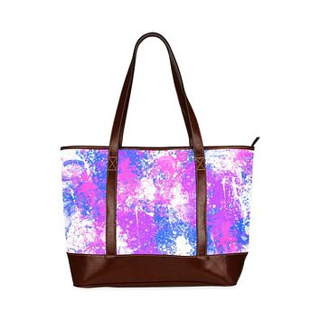 Tote Bags, Cotton Candy Purple Style Bag