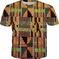 Liquid Kente T-shirt