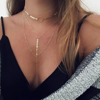 Bohemian crystal choker necklace