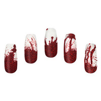 Blood Spatter Nail Wraps