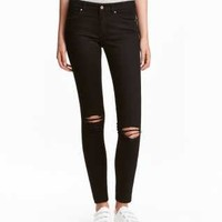Skinny High Superstretch Jeans - from H&M