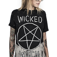 WICKED WITCH CUSTOM TIE-DYE TEE