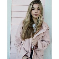 Over and Out Jacket | Blush