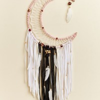 Pink Moon Wall Hanging