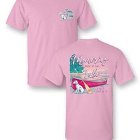 "Sassy Frass Tee ""Lake Memories"" on Comfort Color Tee"