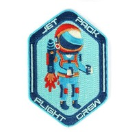 Jet Pack Flight Crew Patch