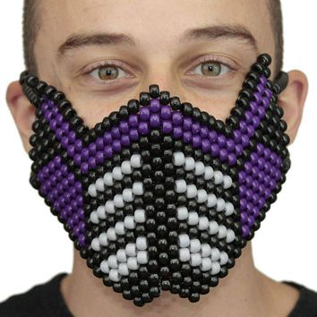 Purple Sub Zero Special Edition Full Kandi Mask