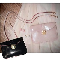 Fashion High Quality Women Handbags Solid Leather Single Shoulder Bags Phone Bag Girls Coins Bags Monederos De Mujer #0924