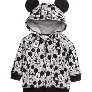 H&M Patterned Hooded Sweatshirt $19.99