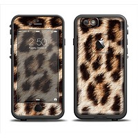 The Leopard Furry Animal Hide Apple iPhone 6 LifeProof Fre Case Skin Set
