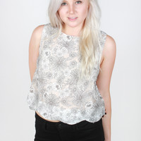 Floral Punch Top