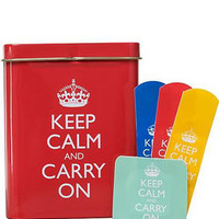 Keep Calm and Carry On Band Aids