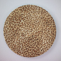 Mouse Pad mousepad / Mat - round - cheetah -  Computer Accessories decor Desk Coworker Gifts Office cubical