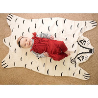 Crib Blanket Cover Baby Stroller Blanket Summer Air Conditioning Blanket Baby Bedding Accessories