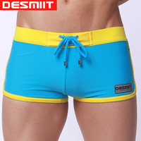 2016 New Men's Swimwear Sexy High Quality Men's Swimming Trunks Men's Beachwear Sexy Swimsuit for Men Brand Desmiit Sunga Briefs