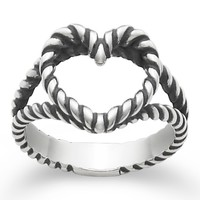 James Avery Twisted Wire Heart Ring | Dillards