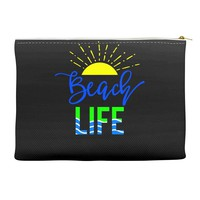 beach life Accessory Pouches