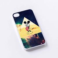 Mickey mouse Hipster Triangle Galaxy iPhone 4/4S, 5/5S, 5C,6,6plus,and Samsung s3,s4,s5,s6
