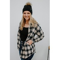 Good To Be Home Flannel - Navy