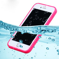 Waterproof phone cases! Shockproof TPU+PC Waterproof Screen Touch Cover  for iphone 6 6s 6plus 6splus For S7 Phone Accessories