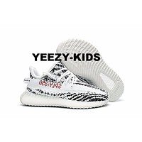 ADIDAS YEEZY BOOST 350 V2 INFANT Zebra WHITE/CBLACK/RED BB6374 CP9396 TODDLER KIDS Boy