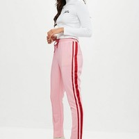 Missguided - Pink Double Side Stripe Joggers