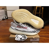 Come With Box Adidas yeezy boost 350 V2 Zebra Size 8 CP9654 w/receipt 100% authentic