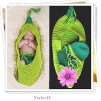 newborn/kids Baby Knitted Hat,romper,crochet Diaper Covers, Photography Props