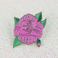 Band Of Babes Enamel Pin