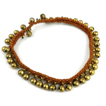 Rasa Bells Anklet: Earth - Thailand
