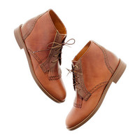 The Aberdeen Two-Tone Boot - boots - Women's SHOES & BOOTS - Madewell
