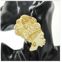 Head wrap earrings | Natural Hair earrings | Afrocentric earrings | Jewelry | Accessories