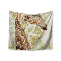 "Wildlife ""Africa 2"" Brown Animals Wall Tapestry"
