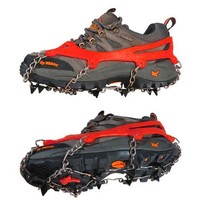 High Quality Spors Red Winter Anti Slip Ice Gripper Cleats Shoe Boot Grips Crampon Chain Spike Sharp Snow