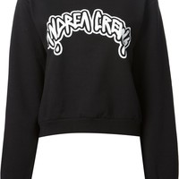 Andrea Crews logo printed sweatshirt