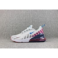 Nike Air Max 270 Flyknit Parra Mulit Color Sport Shoes