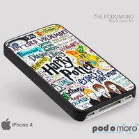 Harry Potter Collage for iPhone 4/4S, iPhone 5/5S, iPhone 5c, iPhone 6, iPhone 6 Plus, iPod 4, iPod 5, Samsung Galaxy S3, Galaxy S4, Galaxy S5, Galaxy S6, Samsung Galaxy Note 3, Galaxy Note 4, Phone Case