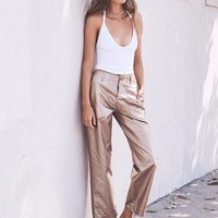 Free People Copper Pant