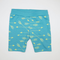 Arrows Organic Babies Shorts in Turquoise