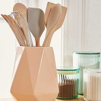 Faceted Utensil Holder - Urban Outfitters