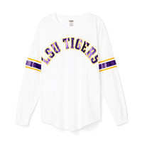 Louisiana State University Limited Edition Varsity Crew - PINK - Victoria's Secret