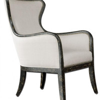 High Pointe Furnishings, Remy Wing Back Armchair