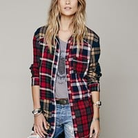 Paloma Plaid Sleep Shirt