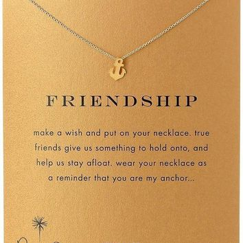Jewelry Shiny Gift Stylish New Arrival Alloy Lock Necklace  With Card  [6345012673]